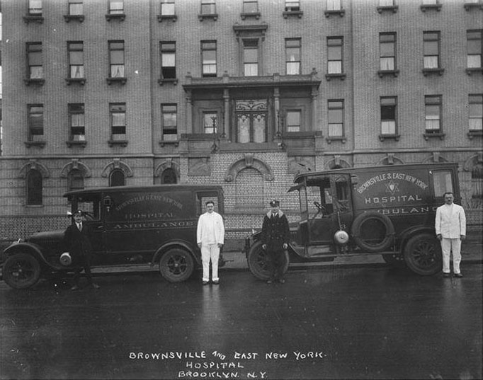Brownsville & East New York Hospital and Ambulances. In the Early 1900s