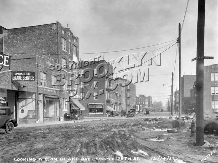 Undeveloped Blake Ave, and 98th Street of Brownsville NY