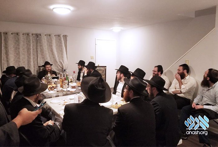 Farbrengen in the Brownsville NY Jewish community