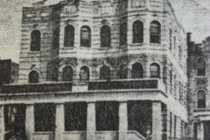 the Yeshiva Rabbi Chaim Berlin building on prospect place - The rich history of Brownsville Jewish community
